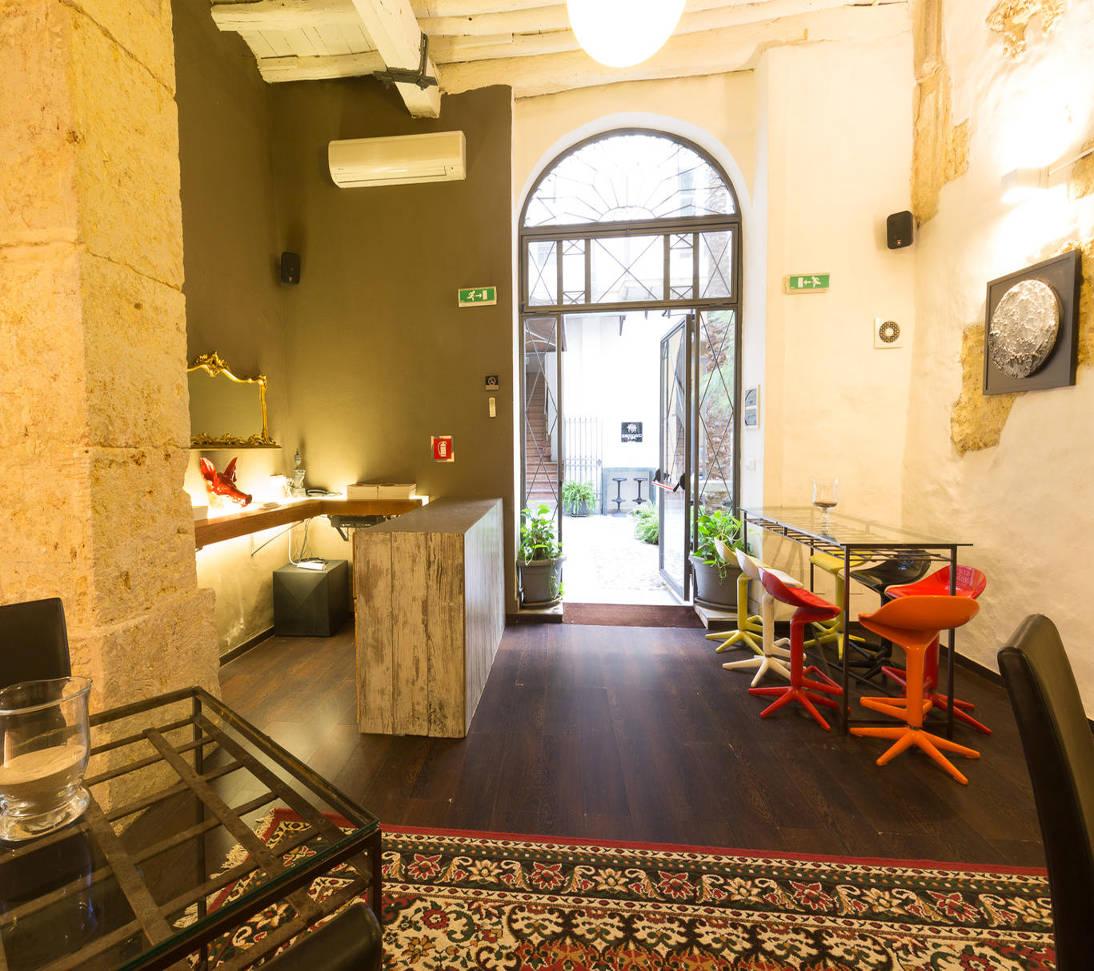 Accueil for Design hotel quintocanto