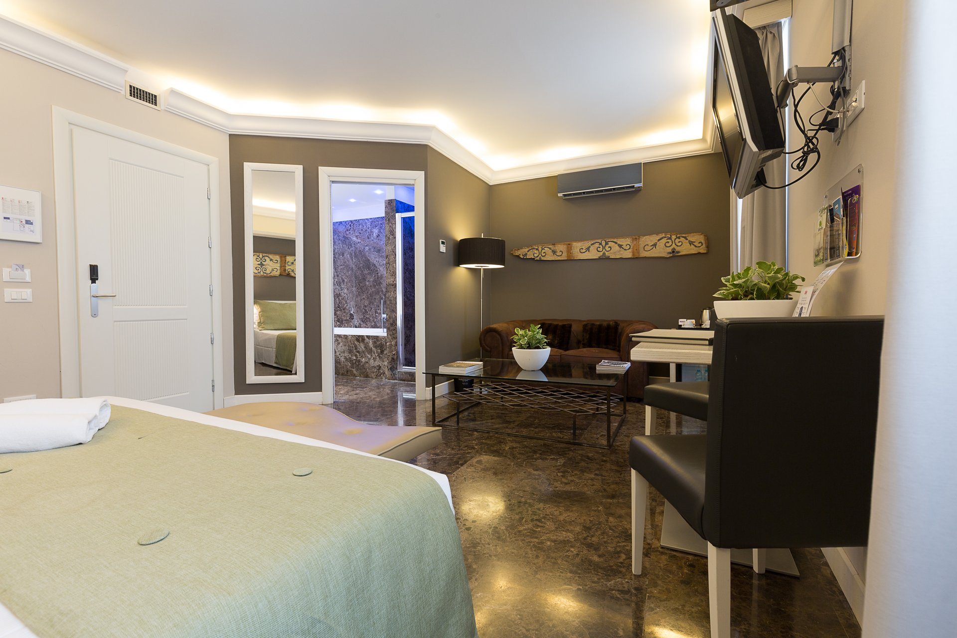 Junior suite quintocanto hotel palermo for Design hotel quintocanto
